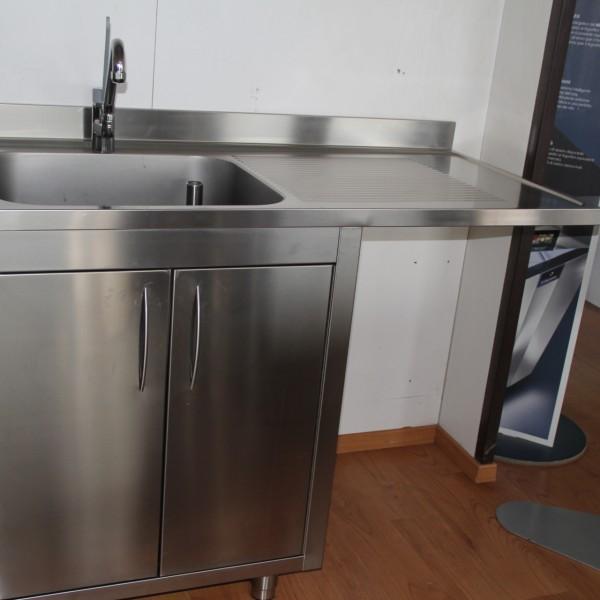 Lavello 1 vasca con gocciolatoio - Nencioni - Usato per ristorazione